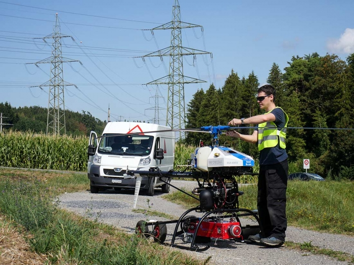 Aeroscout - Aeroscout UAV News - Power Line Inspection Service